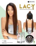 SN-LACY LINA: PREMIUM HUMAN HAIR BLEND Y- LACE PART WIG