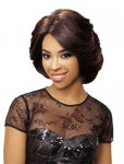 "EV-WIL-900: 12"" DEEP I PART LACE FRONT HEAT RETARDANT WIG"