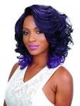 HP-NBS-I204: LACE FRONT DEEP I PART HEAT RETARDANT WIG