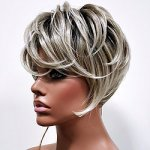 MD-LUX: QUALITY SHORT TAPE CURL BOY CUT WIG
