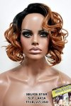 MD-SLP-LAKIA: LACE PART OFF CENTER PART ROMANCE CURL WIG