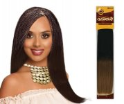 "EV-H-YBLK 18"": 100% HUMAN HAIR REMY YAKI. FOR BRAIDING STYLE"
