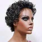 MD-EDLYN: SHORT MEDIUM JERRY CURL WIG