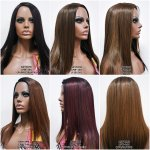 MD-LPW-140: LACE PART LONG STRAIGHT LAYERED WIG