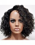 MD-LPW-153: LACE PART MEDIUM LENGTH LOOSE WATER DEEP CURL WIG