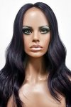 MD-SX53-ALEX: 100% HUMAN HAIR BLENDED SWISS LACE FRONTAL WIG