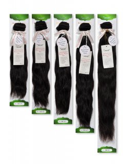 "JZ- SECRET 20"": 100% BRAZILIAN WEAVING HAIR. NATURAL STYLE"