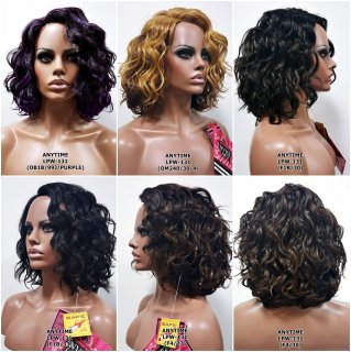 MD-LPW-131:LACE PART MEDIUM LOOSE WATER WAVE WIG