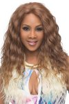 "VF-OLIVIA-V: 25"" LOOSE WAVE DEEP LACE FRONT WIG"