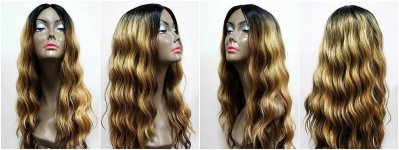 MD-SLPV- ADIA: LACE PART LONG LOOSE BEACH WAVE WIG