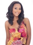 "SN-MS. LONDON 17"": MAGIC WEAVE HALF WIG PREMIUM SYNTHETIC HAIR"