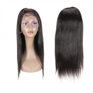 "FA-FULL LACE 20"" 100% VIRGIN HUMAN HAIR STRAIGHT WIG"