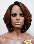 MD-SLP-PATIA: LACE PART CENTER PART LOOSE WAVY PAGE BOY WIG
