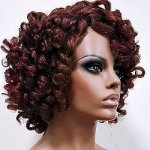 MD-LPW-141: LACE PART MEDIUM LENGTH KINKY TWIST-OUT WIG