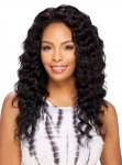SN- LOOSE DEEP: 100% NATURAL HUMAN HAIR WHOLE LACE WIG