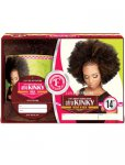 "EV-HHANK-BK 16"": AFRO NATURAL KINKY BULK HAIR FOR BRAIDING"