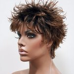 MD-CANCUN: NATURAL SPIKY BOY CUT WIG
