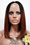 MD-SS-174-CP: LACE PART CENTER PART MEDIUM STRAIGHT WIG