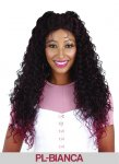 HP-PL-BIANCA: LACE FRONT LONG WAVY CURLS 3 WAY MOON PART WIG