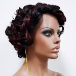MD-LPW-148: LACE PART MEDIUM YAKY SHIRLEY TEMPLE CURL WIG