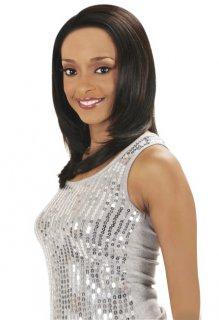 CH- MLH12 RAINBOW: 100% HUMAN HAIR LACE FRONT WIG
