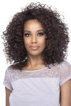 "VF-FHW-SAGE: 16"" LAYERED WATER WAVE LOOSE CURY EXPRESS HALF WIG"