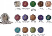 FLORI ROBERTS: LOOSE MINERAL EYE SHADOW