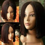 IFY- SHOULDER LENGTH: TWIST BRAID CURLED ENDS STYLE WIG