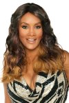 "VF-WP-ARMANI-V: 20"" LAYERED LOOSE SPIRAL CURL WEAVE CAP WIG"