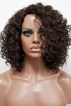 MD-SS-160-OCP: LACE PART WIG OFF CENTER PART NATURAL CURL WIG
