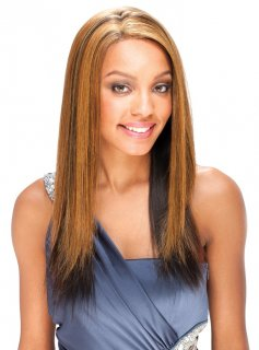"SN: SALVIA 24"": 100% HAND TIED FULL LACE SYNTHETIC HAIR WIG"