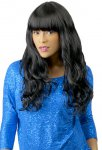 CH-BTH22: BRAZILIAN TRESS HUMAN HAIR BLEND GYPSY WAVE WIG
