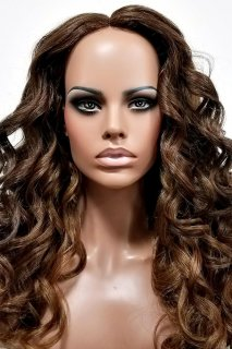 MD-SLF-GLORY: SWISS LACE FRONT SIDE PART LONG LOOSE CURL WIG