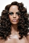 MD-SS-181-OCP: LACE PART CENTER PART LONG LOOSE DEEP CURL WIG