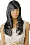 CH-BTH24: BRAZILIAN TRESS HUMAN HAIR BLEND PARISIAN WAVE WIG